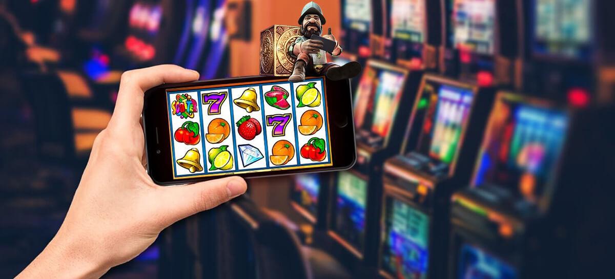 Play slot machines